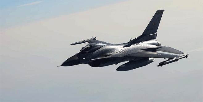 Suriye'de IŞİD'e ait 4 sabit hedef imha edildi