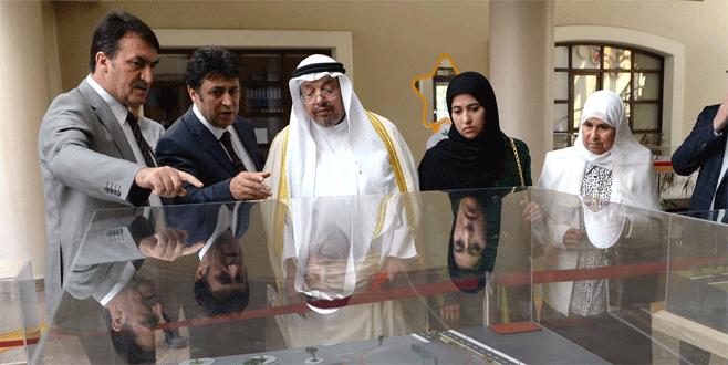 Kuveytli Bakan'dan Dündar'a ziyaret