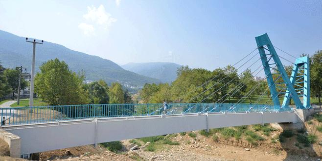 Yıldırım'a modern köprü