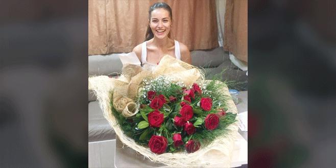 Fahriye'ye romantik sürpriz