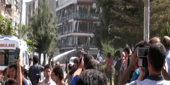 Van'daki patlamadan ilk görüntüler