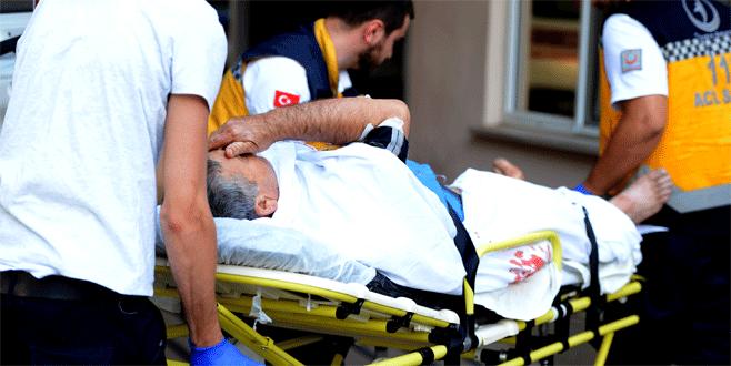 Bursa'da acemi kasaplar hastanelik oldu