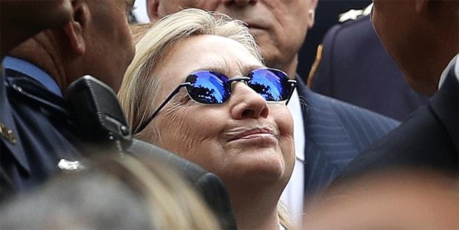 Hillary Clinton zatürre olmuş
