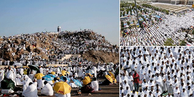 İki milyonu aşkın Müslüman hacı oldu