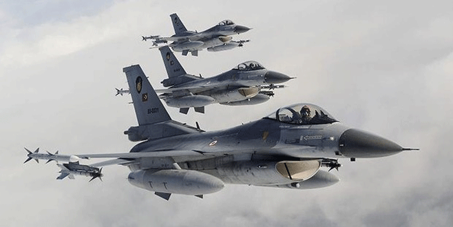 Dağlıca'ya hava operasyonu: 7 terörist öldürüldü