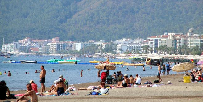 Kurban Bayramı'nda sahiller doldu taştı