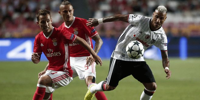 Benfica 1 – 1 Beşiktaş