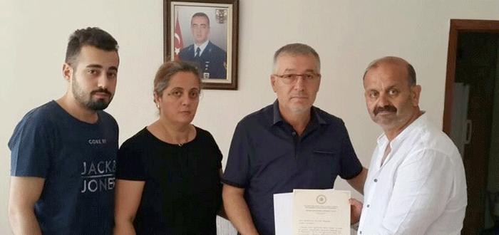 Bursalı şehidin ailesine Başbakan'dan mektup