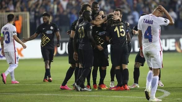 Osmanlıspor Avrupa Ligi'ne galibiyetle başladı