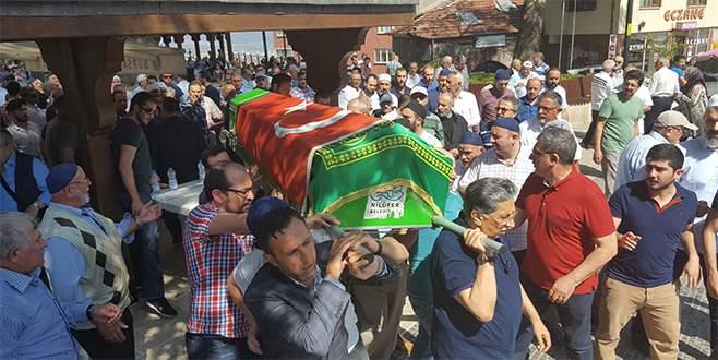 FETÖ'den tutuklu savcının cenazesi toprağa verildi