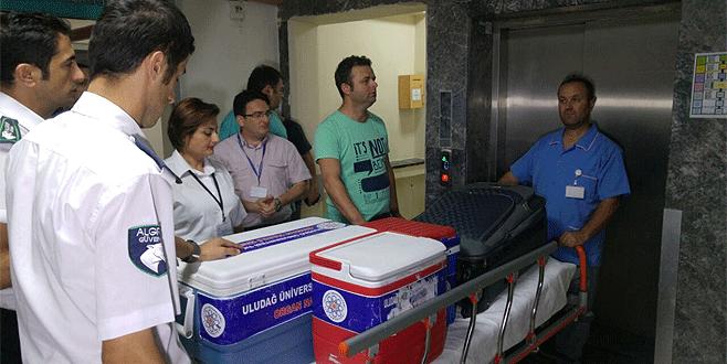Bursa'da organlarıyla 4 kişiye umut oldu