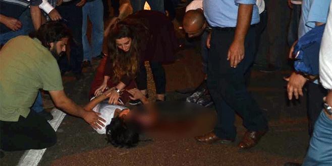 Bursa'da otomobilin çarptığı bisikletli ağır yaralandı