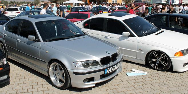 Modifiye araç tutkunları Bursa'da bir araya geldi