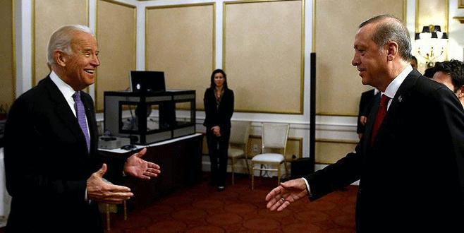 Cumhurbaşkanı Erdoğan, Biden'ı kabul etti