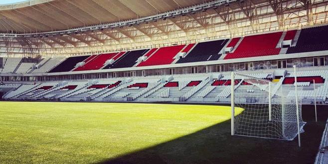 Gaziantep Arena Bursaspor maçıyla açılacak