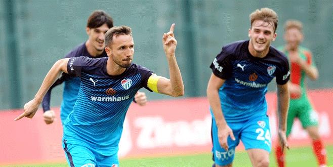 Bursaspor tek golle tur atladı