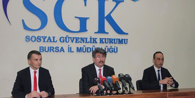 Bursa'daki 89 bin prim borçlusuna çağrı