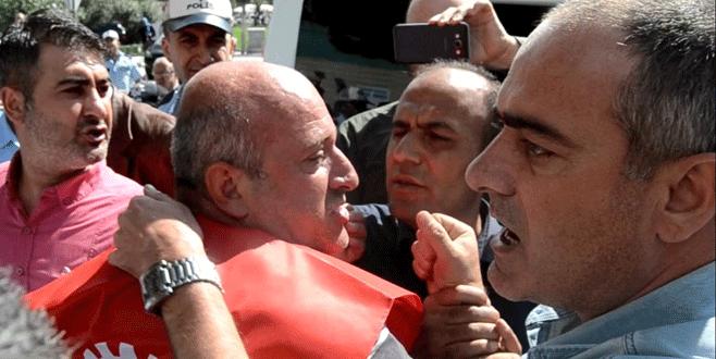 Bursa'da işçi eyleminde gerginlik