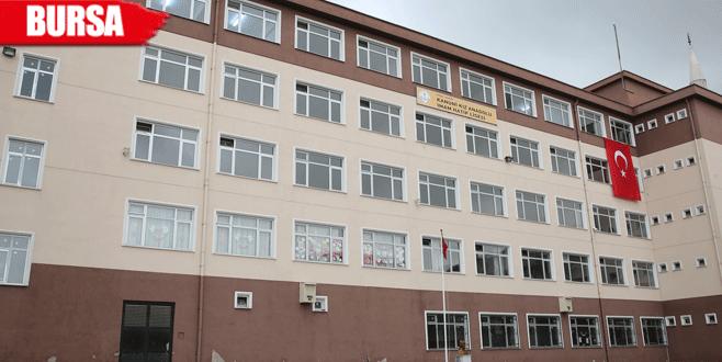 Aynı binada dört okul