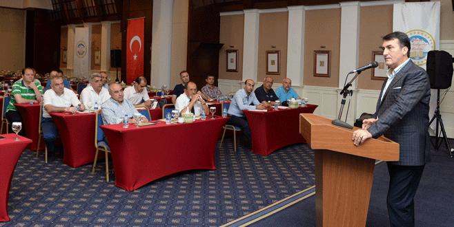Bursa belediyelerine hizmetiçi eğitim