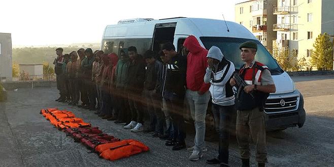 Bursa'da 25 yabancı uyruklu yakalandı