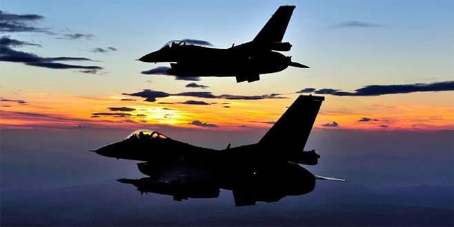 IŞİD hedefleri havadan ve karadan vuruldu