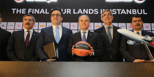 THY Avrupa Ligi Dörtlü Final'i İstanbul'da