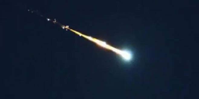 Kentte meteor paniği