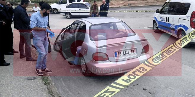 Bursa'da otomobil içinde erkek cesedi bulundu