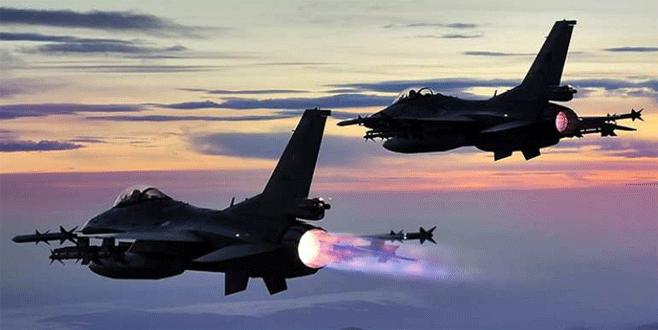 TSK'dan Hakkari ve Kuzey Irak'a hava harekatı
