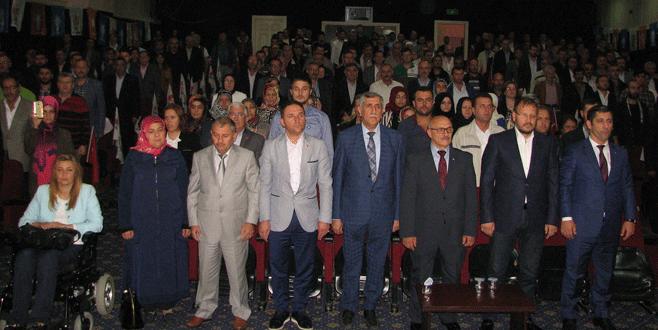 AK Parti Kestel'de Danışma Meclisi Toplantısı