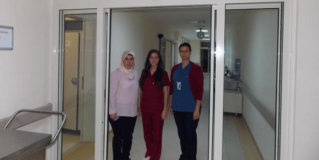 Devlet hastanesine yoğun bakım servisi
