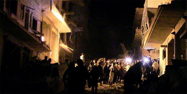 Suriye ordusu İdlib'i vurdu: 20 ölü, 24 yaralı