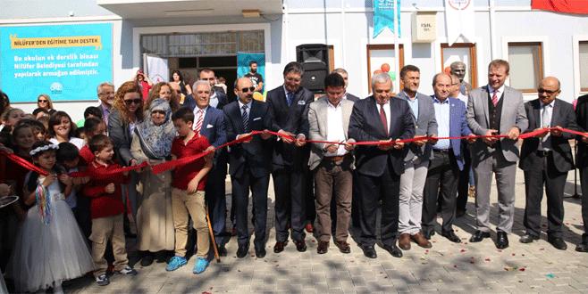 Nilüfer Belediyesi'nden eğitime büyük katkı