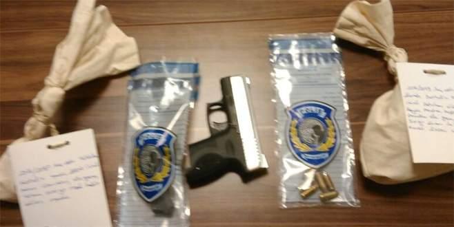 Bursa'daki uygulamada silah ve uyuşturucu ele geçirildi