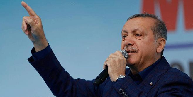 Erdoğan: 'Onlar kaçacak biz kovalayacağız'