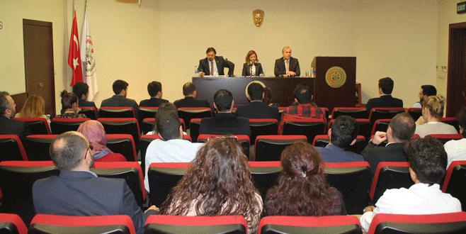 Genç avukatlar başkan adaylarıyla buluştu