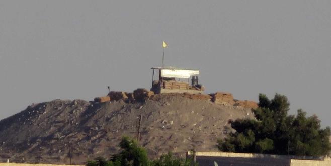 PYD, Telabyad'da mevzi kurdu