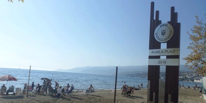 Yeni düzenlenen plaja vatandaş akını