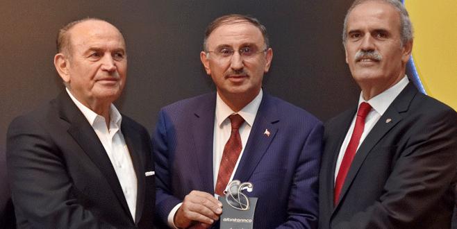 Bursa'ya 'Altın Karınca' ödülü