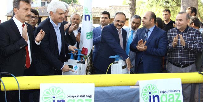 Cihadiye'ye doğalgaz