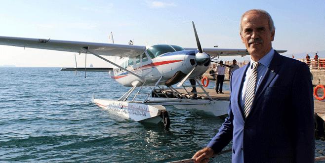 Bursa'nın merkezinden İstanbul'a 20 dakikada uçulacak