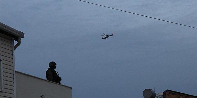 Tunceli'de PKK'ya karşı hava destekli operasyon