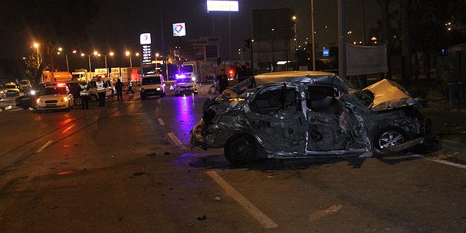 Bursa'da korkunç kaza: 3 ölü