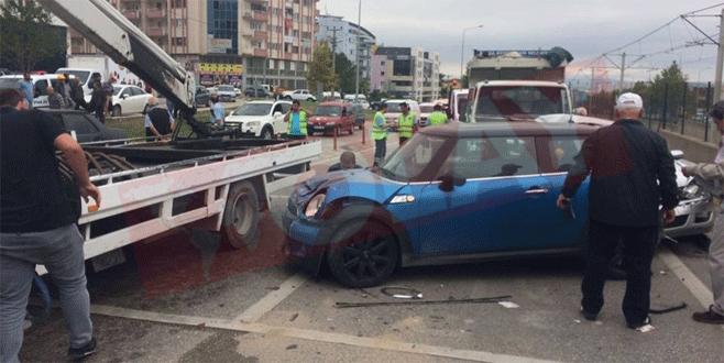 Bursa'da zincirleme kaza: 10 yaralı