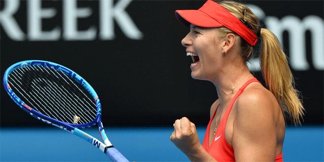 Sharapova çok mutlu