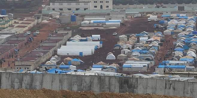Türkiye sınırındaki çadır kentte patlama: 20 ölü
