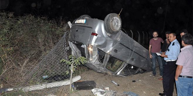 Bursa'da üç ayrı kaza: 3 yaralı