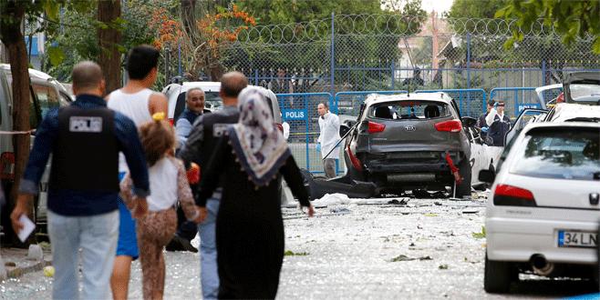 İstanbul'daki patlamadan fotoğraflar