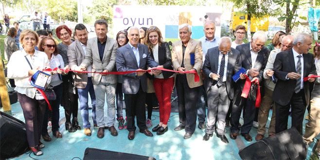 Çocukların tasarladığı park Türkiye'de ilk oldu